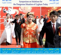 Symposium on Solutions for the Dangerous Situation of Uyghurs Today
