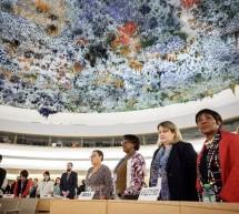 Diplomats, activists decry Chinese 'threats' at UN rights council