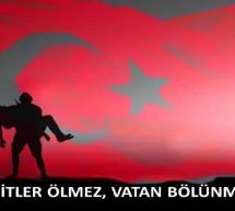 Uygur Türklerinden Şehitlere Taziye Mesajı