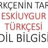 Çağdaş Uygurcada 'fiillerin hal- zaman kategorisi'  ve Türkiye Türkçesiyle karşılaştırılması(2)