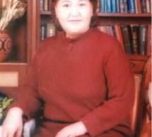 Günümüz Uygur yazarı Halide İsrail  ve eserleri