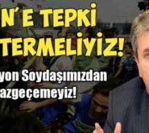 Destici'den Doğu Türkistan çağrısı: Tepki göstermeliyiz!: Tepki göstermeliyiz!