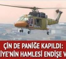 Türk savunma sanayii'nin başarısı Çin'i korkuttu:Türkiye endişe verici