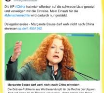 Çin'den, Alman heyetine 'Uygur' engeli!