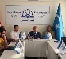 """""""Amerika-Çin İlişkileri ve Uyghur Sorunu"""" konulu söyleşi Uyghur Akademisi'nde gerçekleştirildi"""