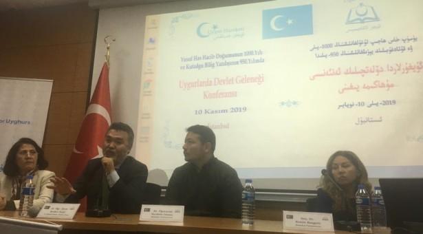 """""""1933 ve 1944 Doğu Türkistan Cumhuriyetlerini anma ve 950. Yılında Kutadgu Bilig"""" Konferansı gerçekleştirildi"""