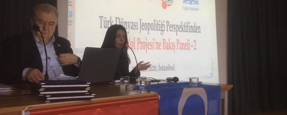 """""""Türk Dünyası Jeopolitiği Perspektifinden Kuşak Yol Projesi'ne Bakış"""" Konulu Panelin İkincisi İstanbul'da Gerçekleştirildi"""