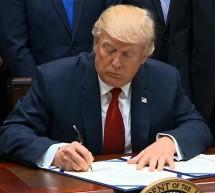 Trump, Çinli yetkililere yaptırım öngören tasarıyı onayladı