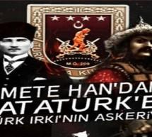 Batur Tanrıkut'tan (Mete'den) Atatürk'e Türklük üzerine