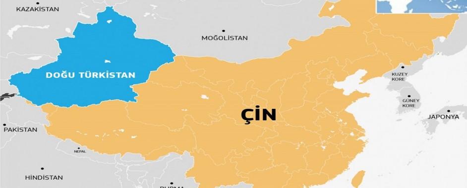 Avrasya, Çin ve Doğu Türkistan